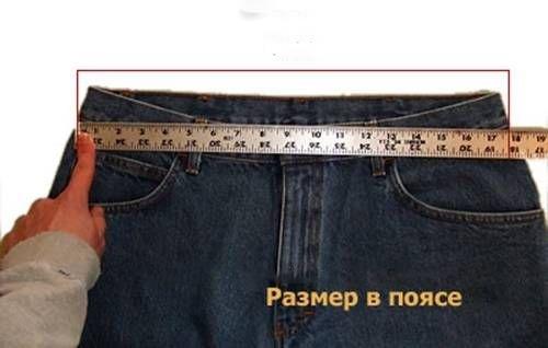 Талию для мужского пиджака или костюма лучше измерить как показано на рисунке