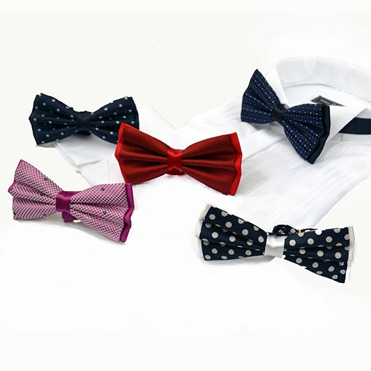 Стильная шёлковая бабочка - в подарок от интернет-магазина мужских костюмовkostums.ru